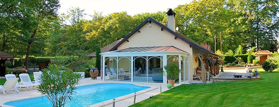 Couverture de piscine et abri en Seine-Saint-Denis