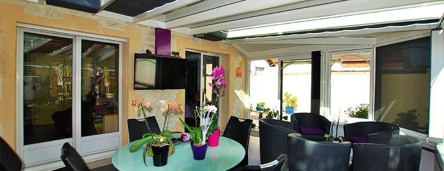 Extension de maison, véranda en Seine-et-Marne